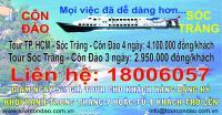 Du lịch Côn Đảo bằng tàu Superdong từ Sóc Trăng