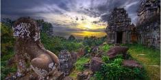 Du lịch Campuchia: Cao nguyên Bokor - Biển Shihanouk Ville - Đảo Kohrong - Phnompenh Tết Âm lịch